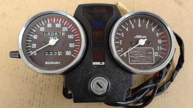GS400E3国内メーターセット180k良品GT380CBX400Z400FXスピードメーター タコメーター < 自動車/バイク