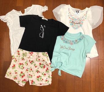 子供服女の子☆まとめ売り7点120〜130
