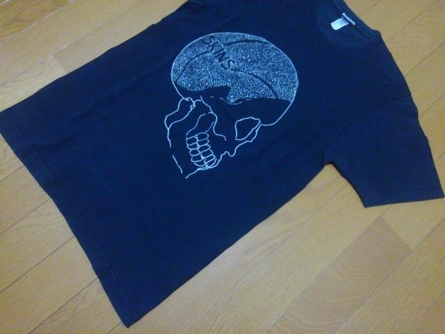Don Ed Hardy/エドハーディ★スキンズ半袖Tシャツ★サイズS★ブラック < ブランドの