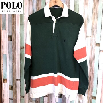 90's POLO BY RALPH LAUREN ラグビーシャツ