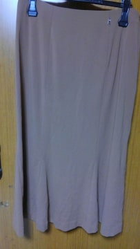 �H 茶色のスカート