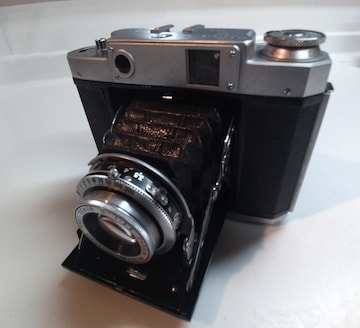 昭和レトロ フィルム式 カメラ マミヤ-6 Mamiya ジャバラ