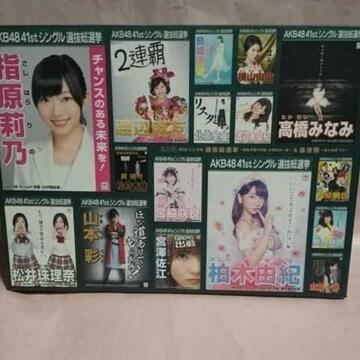 AKB48/41stシングル選抜総選挙〜順位予想不可能、大荒れの一夜…