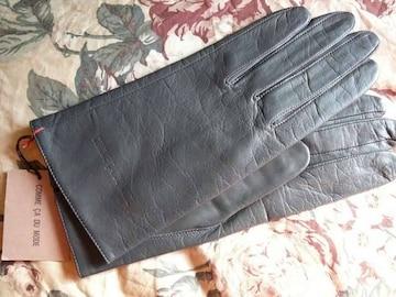 訳ありコムサデモード21羊皮革手袋