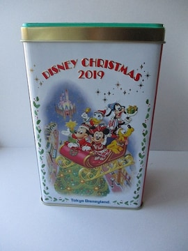 TDL ディズニーランド 2019 クリスマス クッキー缶
