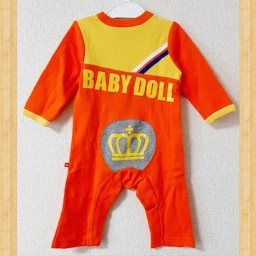 BABY DOLL ベビードール 未使用 ロンパース 80cm ベビー服