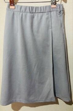 新品wohl ラップ風スカートの内側がプリーツ オシャレスカート