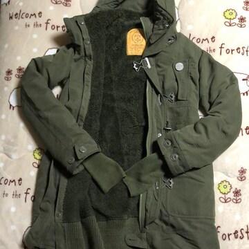 SLY スライ military モッズコート ボアライナー付 カーキ 2
