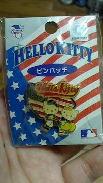 新品★激レア!!キティ『ピンバッチカクマリナー』