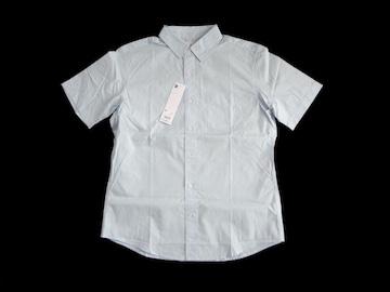 新品 定価1490円 GU ジーユー ブロード シャツ メンズ 紳士