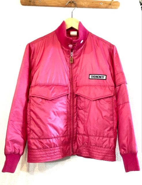 TOMMY GIRL■フライトジャケット■MA-1■トミーガール■ピンク  < ブランドの
