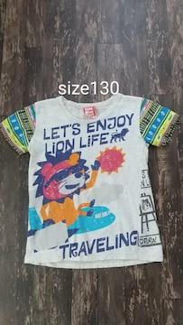 男児/Tシャツ/size130//