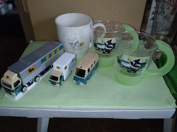 ミニカー、コーヒーカップ、コップ