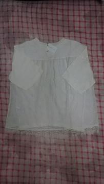 新品 バックレース Tシャツ ホワイト  半袖