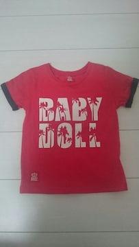 美品☆BABY DOLL☆Tシャツ☆120
