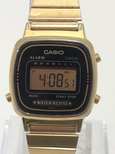T329 カシオ CASIO LA670W クオーツ デジタル 腕時計  < 女性アクセサリー/時計の