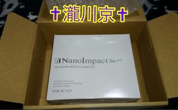 送料込ラスト/新品/購入価格10800/ホソカワミクロン/育毛/ナノインパクトテラ2.0