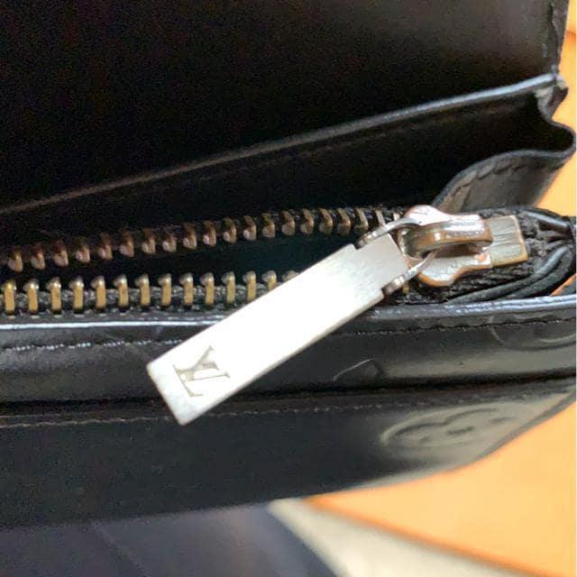 正規品LOUIS VUITTON人気のマットライン☆ファスナー付長財布☆