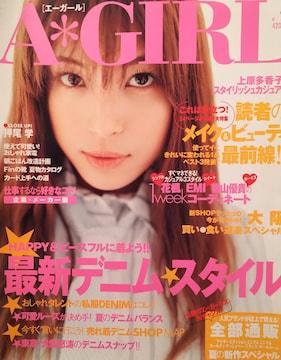 上原多香子【エーガール】2002年5月号ページ切り取り