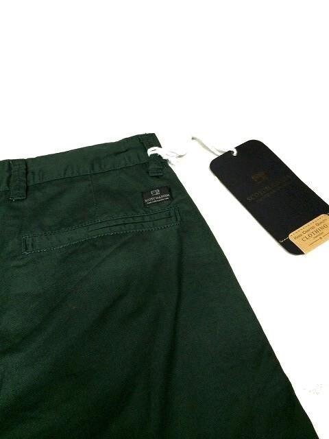 セール!新品送込SCOTCH&SODAスコッチ&ソーダ★ショートパンツW34ディープグリーン < 男性ファッションの