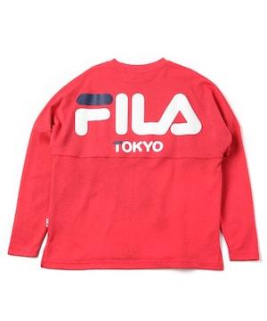 タグ付新品FILA Tokyoアイコンロゴシャツスウェットトップス男女