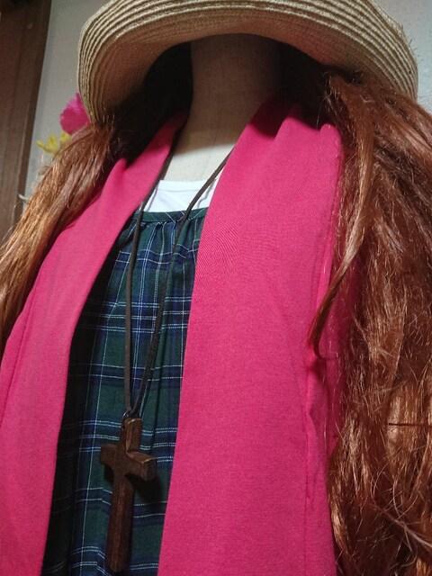 ★新品タグ8L★レイヤードチュニ(3枚重ね) < 女性ファッションの