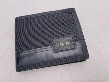 D476 未使用★ PORTER ポーター 吉田カバン 折り財布