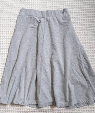 ☆GUグレースウェットフレアスカート☆S