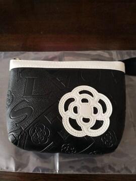 新品 CLATHAS  クレイサス ポーチ 黒