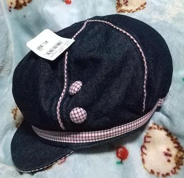 新品!キャスケット!帽子56センチ  送料込み!