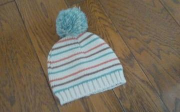 ニット帽 40〜42cm 美品