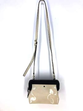 Kate spade(ケイトスペード)エナメル レザー ショルダーバッグショルダーバッグ