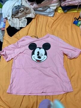 ◇H&M◇ミッキー◇Tシャツ◇中古◇Sサイズ◇