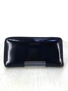 Wallet COMME des GARCONS(ウォレットコムデギャルソン)エナメル長財布長財布