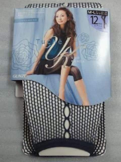 レディース グンゼ 神田うの Tuche 12分丈 レギンス ダーク ブルー  < 女性ファッションの