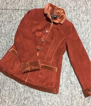 INTELLECTION アーモンド色 ボアパイル地 ジャケットコート