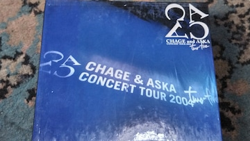 CHAGE and ASKA(チャゲ&飛鳥) DVD TOUR2004 two-five 2DVD+1CD