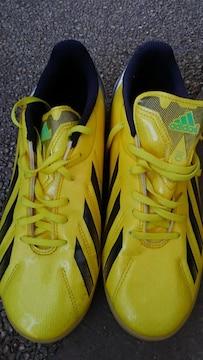 adidas フットサルシューズ f10 25.5cm