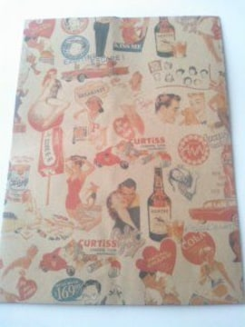 8才サイズ紙袋★キスミー10枚☆A5サイズ紙袋