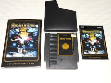 FC★HOLY DIVER COLLECTOR'S EDITION NES 海外版 端子清掃済み