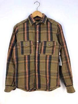 NIGEL CABOURN(ナイジェルケーボン)HEAVY FLANNEL SHIRTネルシャツ