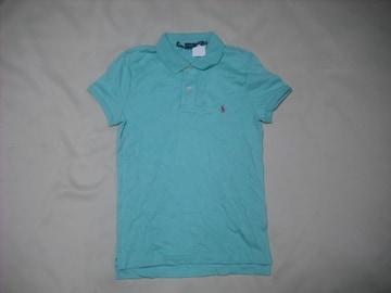 wr351 女 RALPH LAUREN ラルフローレン 半袖ポロシャツ Sサイズ