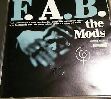 CD THE MODS F.A.B. モッズ 帯なし