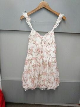 LIZ LISA☆パワネ花柄キャミワンピ