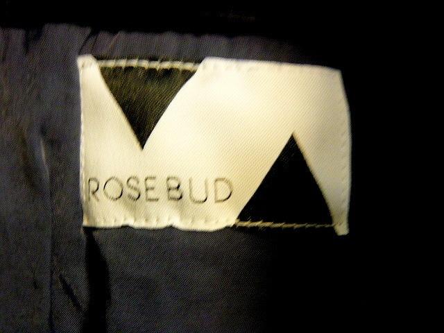 ROSE BUD ローズバッド MA1 ジャケット ブラック < ブランドの