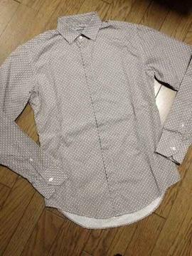 美品ZARA MEN デザインシャツ ザラ