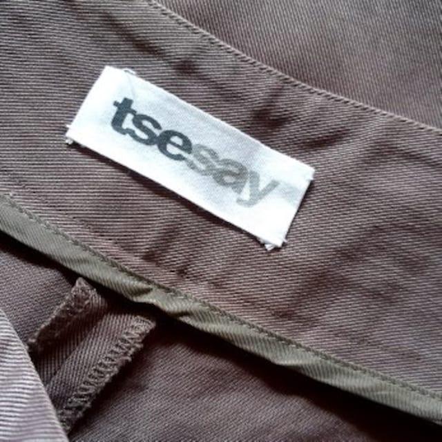 ◆TSE◆tsesay◆セイセイ◆グレージュ◆ハーフパンツ◆4◆ < 女性ファッションの