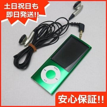 ●安心保証●美品●iPOD nano 第5世代 8GB グリーン●