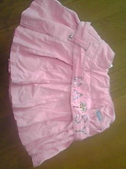 新品同様デイジーラバーズピンクヒダスカート110 < ブランドの