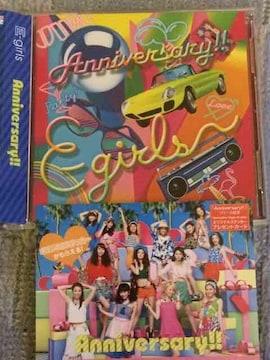 激安!超レア!☆E−girls/Anniversary!☆初回盤/CD+DVD☆超美品!
